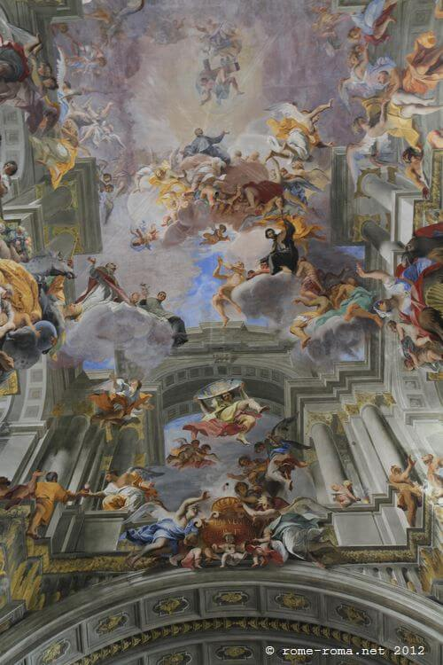 Sant' Ignatius, fresco