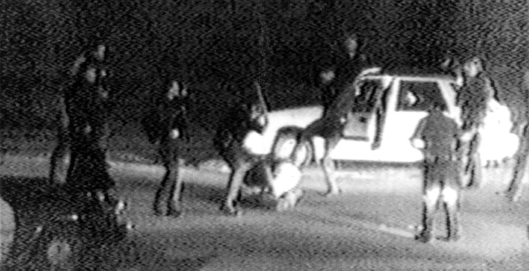 polizeigewalt festnahme Rodney king